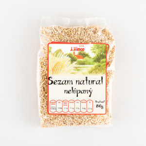 Sezam natural nelúpaný