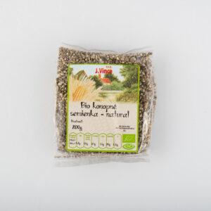 Bio konopné semienka natural