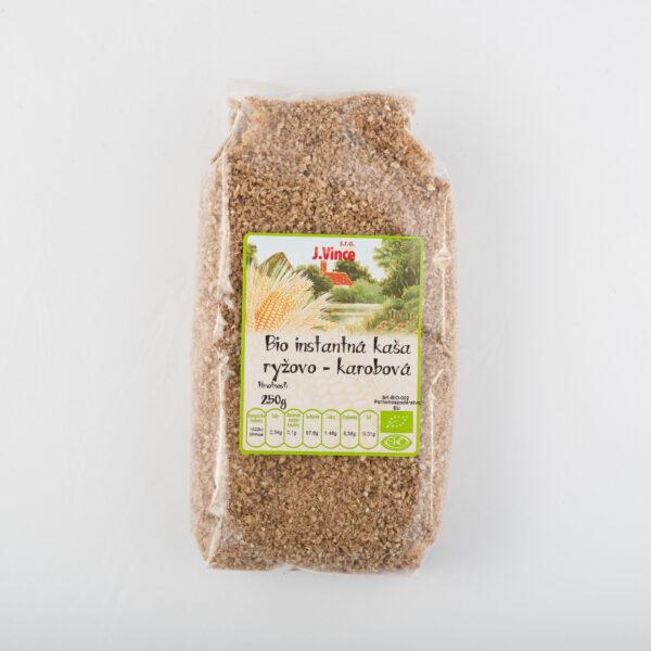 Bio instantná kaša ryžovo karobová
