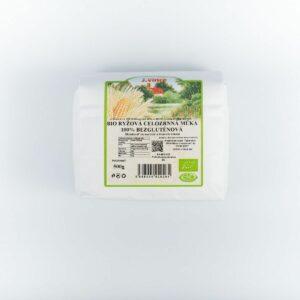bio ryžová celozrnná múka celozrnná 100% bezgluténová