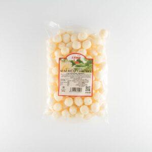 kukuričné chrumky s príchuťou jogurtu