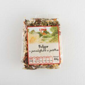 Bulgur s paradajkami a pažítkou