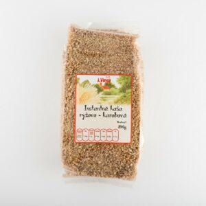 Instantná kaša ryžovo karobová